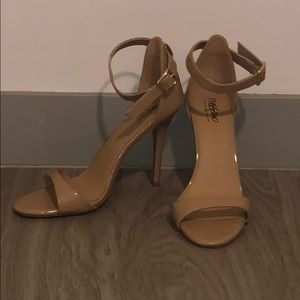Nude Heels - barely worn